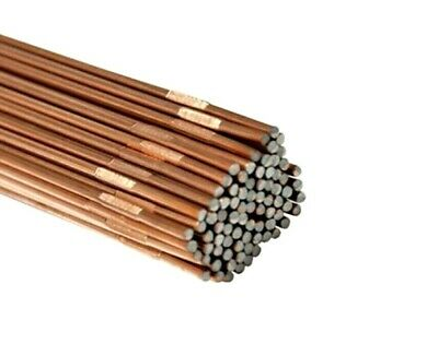 Gas Welding Rods Ccms Copper Coated Mild / Low Steel 1/16 Inch 3/32 Inch 1/8Inch