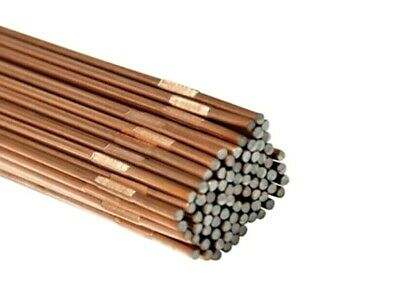 495mm GAS OXY WELDING RODS CCMS COPPER COATED MILD STEEL 2.4mm YOU CHOOSE QTY