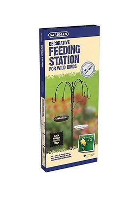 Gardman Deluxe Wild Bird Free Standing Feeding Station Kit