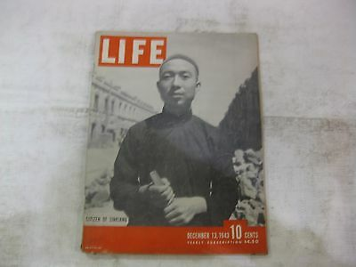 Life Magazine December 13th 1943 Citizen Of Sinkiang Published By Time     mg321