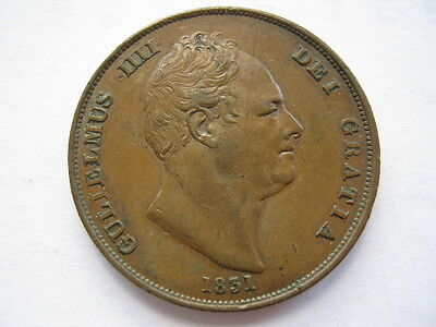 1831 copper Penny, no WW, NEF. ACS