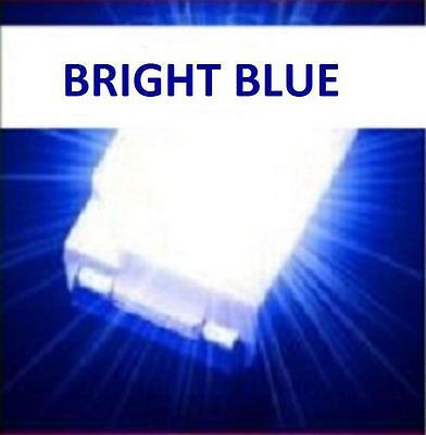 100 x ULTRA BRIGHT BLUE 1210 3528 SMD SMT PLCC-2 SURFACE MOUNT ULTRA BRIGHT LEDS