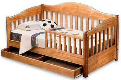 Toddler Daybed Furniture Woodworking Plans / Patterns