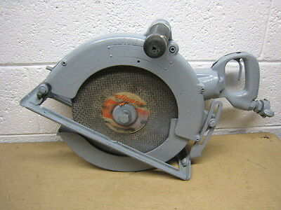"""Pneumatic Air 12"""" Circular Saw Unknown Brand Used Free Shipping"""