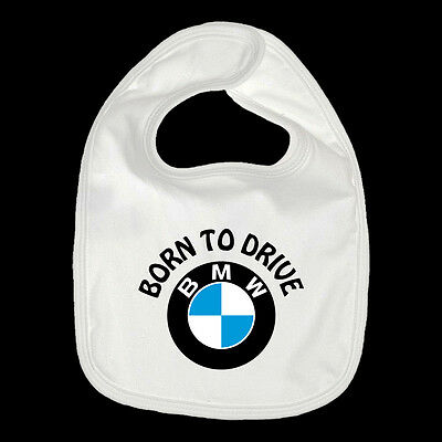 Bavaglino Bmw Born To Drive Bib