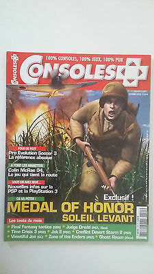 CONSOLES PLUS N°141 - Oct 2003 - MEDAL OF HONOR JAK 2 FINAL FANTASY TACTICS GBA