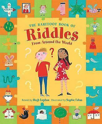 Riddles, the Barefoot Book Of by Hugh Lupton (2016, Paperback)