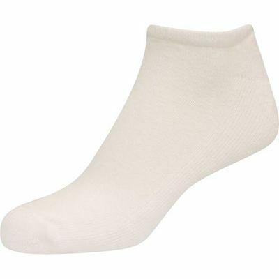 FootJoy Ladies ComfortSof Low Cut No Show White 3-Pack Socks #13424