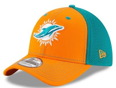 MIAMI DOLPHINS NEW Era NFL Cotton Strapback Hat Retro Logo -  24.00 ... 5e0cbb790