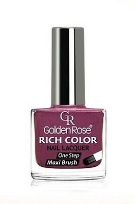 Golden Rose - Rich Color Nail Polish/Nail Lacquer 34 Colors 10,5ml. FREE UK Del