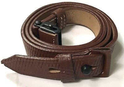 Wwii German Mp Leather Carry Sling