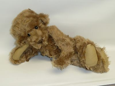 "17"" McB Bear by Barbara McConnell Great Wavy Mohair, Very Poseable, #1/1 Cute!"