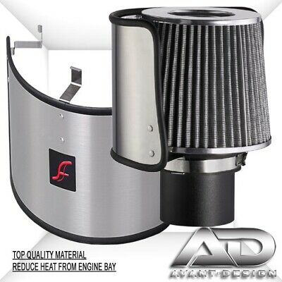 """AF DYNAMIC UNIVERSAL STAINLESS STEEL HEAT SHIELD COVER for 2.75""""-3.5"""" AIR FILTER"""
