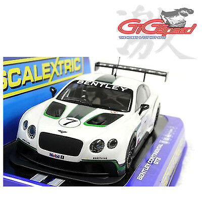 New Scalextric 1:32 Bentley Continental Gt3  Slot Car C3514 Dpr