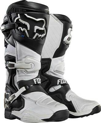 New 2017 Fox Racing Comp 8 Mx Offroad Boots- White