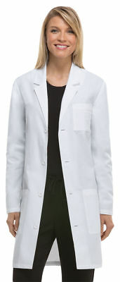 "Dickies Adult Workwear Button Front Pocket Long Sleeve 37"" Lab Coat. 83402A"