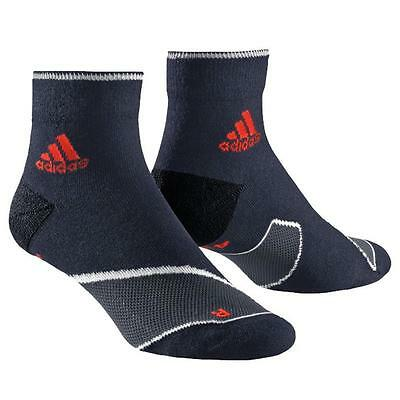 2 Paar adidas Adizero Tc Ankle Sock Laufsocken Cushion Running Socken Sportsocke