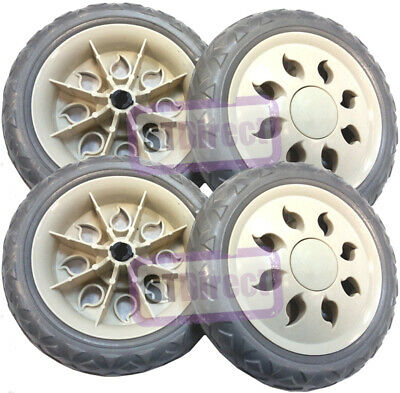 4 x Replacement / Spare Shopping Trolley Wheels (TWO PAIRS ONLY) & FREE DELIVERY