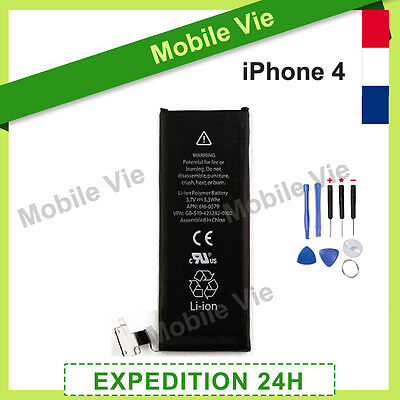 Batterie Interne 0 Cycle Neuve Pour Iphone 4 (3,7 V) + Outils