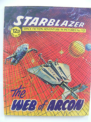 STARBLAZER Comic - No 12 - 1979 - D C Thomson Comics
