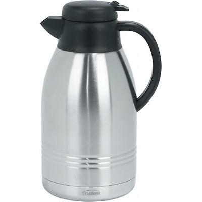Trudeau Corporation 088223 2 Liter Stainless Steel Lyra Carafe