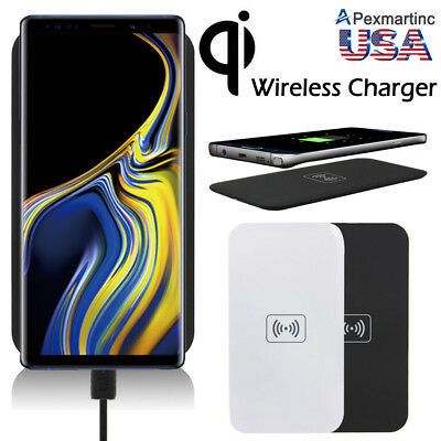 Qi Wireless Charger Charging Receiver For Samsung Galaxy Note 4/3/2/Edge S5/4/3