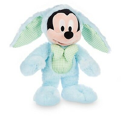 Mickey Mouse Easter Bunny Plush 2016 Genuine Authentic Disney Store Patch