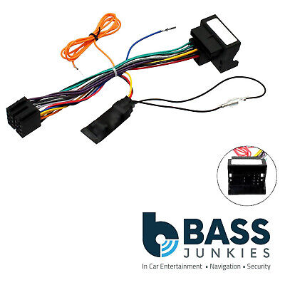 Citroen C4 Picasso 2006 On Car Stereo Quadlock Wiring Harness Ignition Adapter