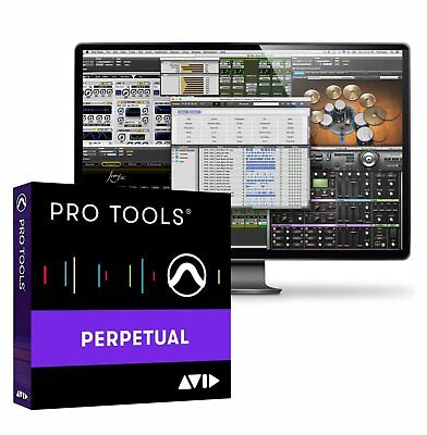 Avid Pro Tools 2018 Full Version PLUS 1-Year Upgrade Plan (Boxed)