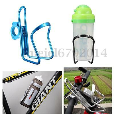 Aluminum Alloy Mountain Bike Bicycle Cycling Water Bottle Cage Holder Bracket