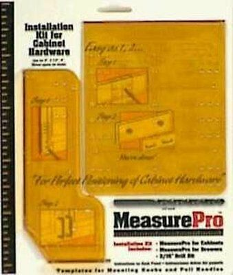 """Installation Guide Kit Cabinet Hardware Templates Drawer High Speed Drill 3 16"""""""