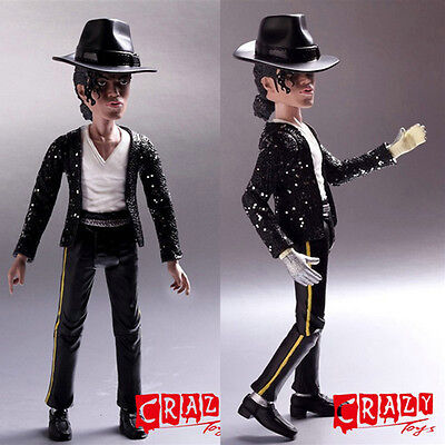 """Rare 8"""" King Of Pop Michael Jackson Doll Action Figure Statue Gift New In Box"""