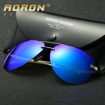 Polarized-Mens-Sunglasses-Outdoor-Sports-Pilot-Fashion-Eyewear-Driving-Glasses