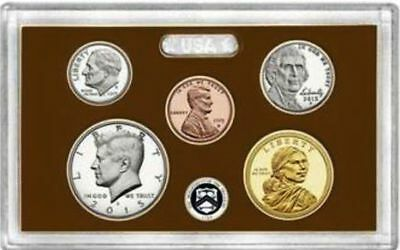2015 S Proof Set 5 Coin Sealed Mint Fresh Deep Cameo Proofs Sealed