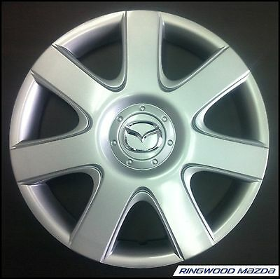 "New Genuine Mazda 3 BK 6 GG 15"" Inch Wheel Cover Hubcap 2004-2009 Part C24337170"