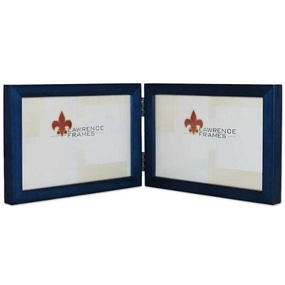 LAWRENCE FRAMES COLLECTION Hinged Double Wood Picture Frame Gallery ...