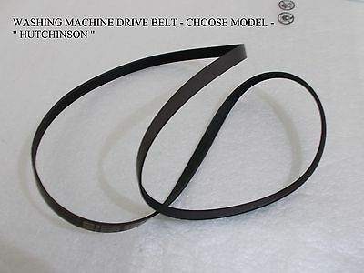 Washing Machine Drive Belt - Hutchinson - Choose Your Model -