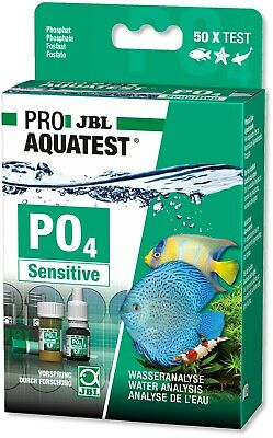 JBL PO4 Phosphate Sensitive Test Set Kit for Freshwater and Marine Aquariums