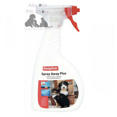 "Spray Away Plus 400ml ""Friendly"" Bacteria Cleaning Agent Perfume Dog Cat Puppy"