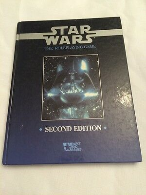 Star Wars - RPG - Second Edition Rule Book - Hardcover - 1992