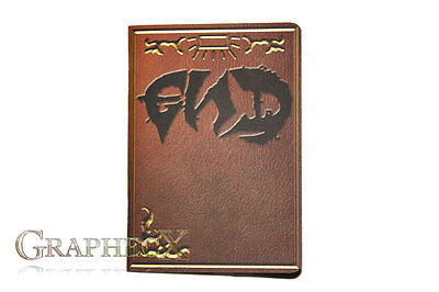 END E.N.D. Tome Fairy Tail Book of Zeref inspired personalized journal notebook