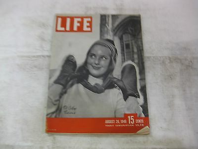 Life Magazine August 26th 1946 Fall College Fashions Cover Publisher Time  mg339