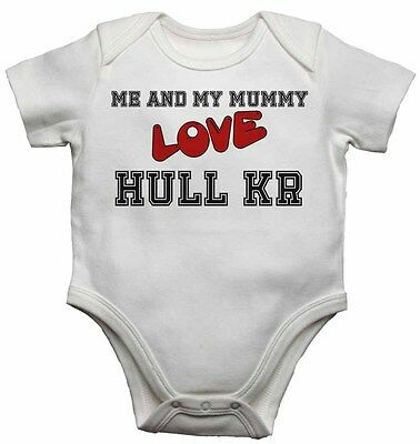 89949d676e Me and My Mummy Love Hull Kr - Baby Vests Bodysuits for Boys, Girls Gift