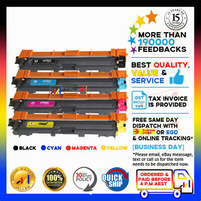4x pcs TN251 TN255 Toner for Brother HL3150CDN HL3170CDW MFC9330CDW MFC9335CDW