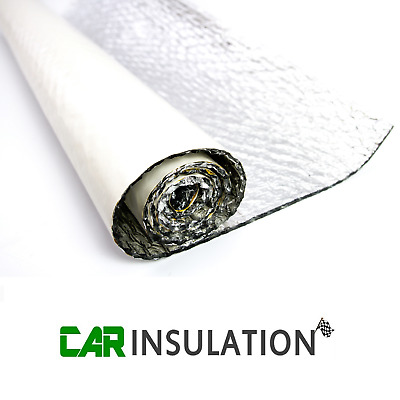 1m x 1.8m Self Adhesive Thermal Radiant Bubble Foil Insulation Caravan Camper UK