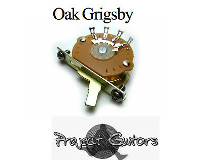 Oak Grigsby Switch - 3-way switch for Tele® With Screws - Oak Grigsby
