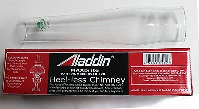 Aladdin Lamps MaxBrite 500 Heel-less Glass Chimney #R910-500