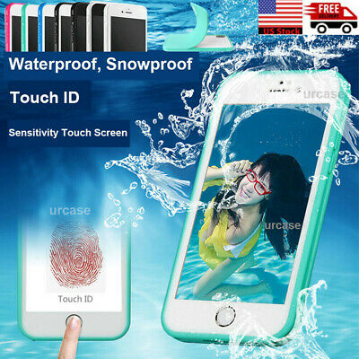 Waterproof Shockproof Hybrid Rubber TPU Phone Case Cover For iPhone 8/8 7 Plus