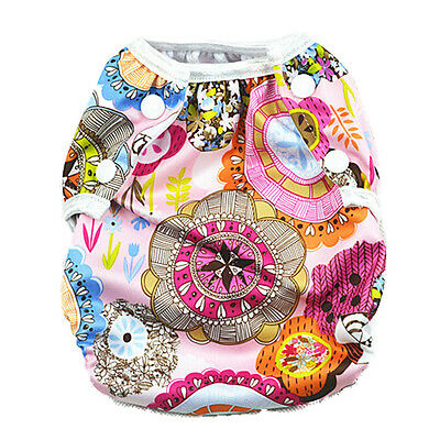 New Reusable Swim Nappy Baby Girl Diaper Pant Nappies Swimmers Toddlers (S47)