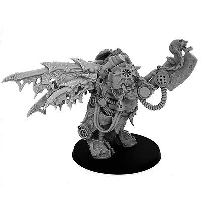 28mm-scale CHAOS ROTTEN PRINCE OF DAEMONS WITH WINGS